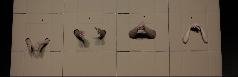 Nowy Teatri (Varssavi) lavastus viipekeeltes: ''One Gesture / Üks viibe'' Kanuti Gildi SAALis
